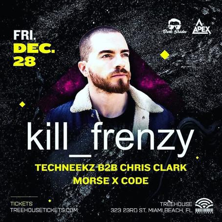 Morse X Code and Kill Frenzy @ Treehouse!