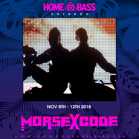 Morse X Code invades Home Bass!