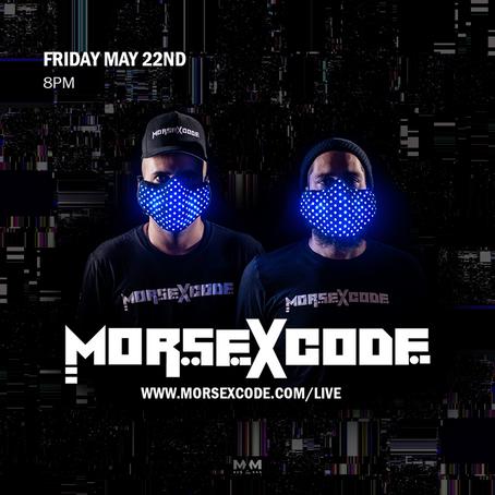 Morse X Code Free Covid Concert Online!