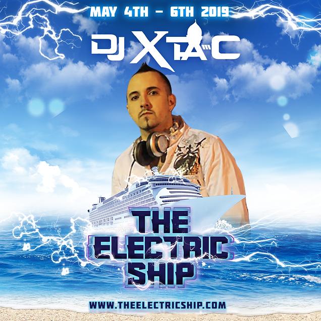 Dj Xta-C Edm Cruise on Electric Ship