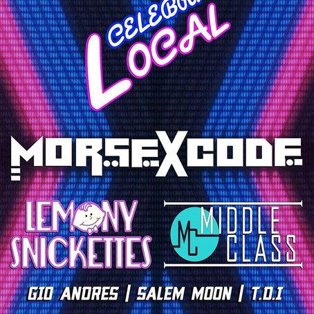 Morse X Code announces performance at  Local Celebrity show for MMW!