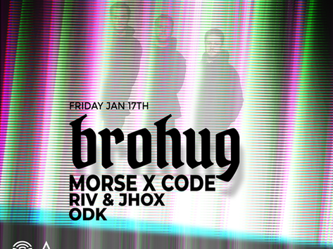 Morse X Code returns to Treehouse for first time in 2020 with Brohug!