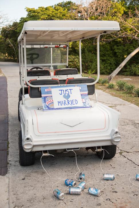 Golf Cart get-away-car