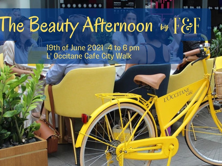 The Beauty Afternoon at L´Occitane City Walk