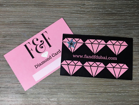 Discover the F&F Diamond Card