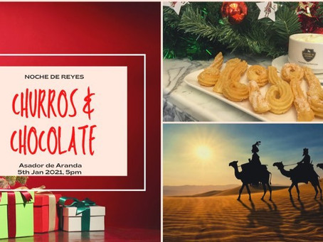 Spanish Christmas with Churros and Chocolate!