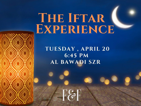 The Iftar Experience