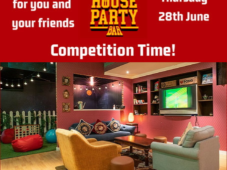 Win a table at The House Party Bar