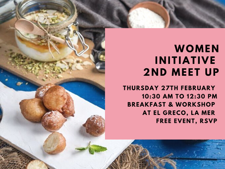 Women Initiative: 2nd Breakfast + Workshop