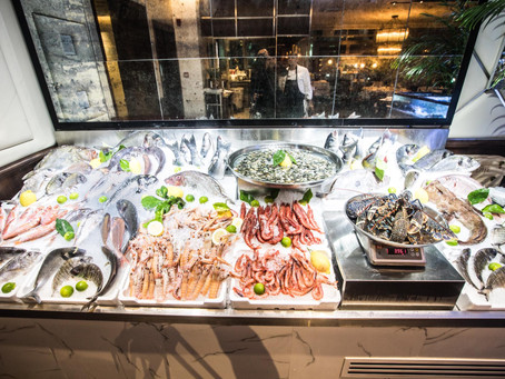 Crazy Fish, the best seafood in Dubai