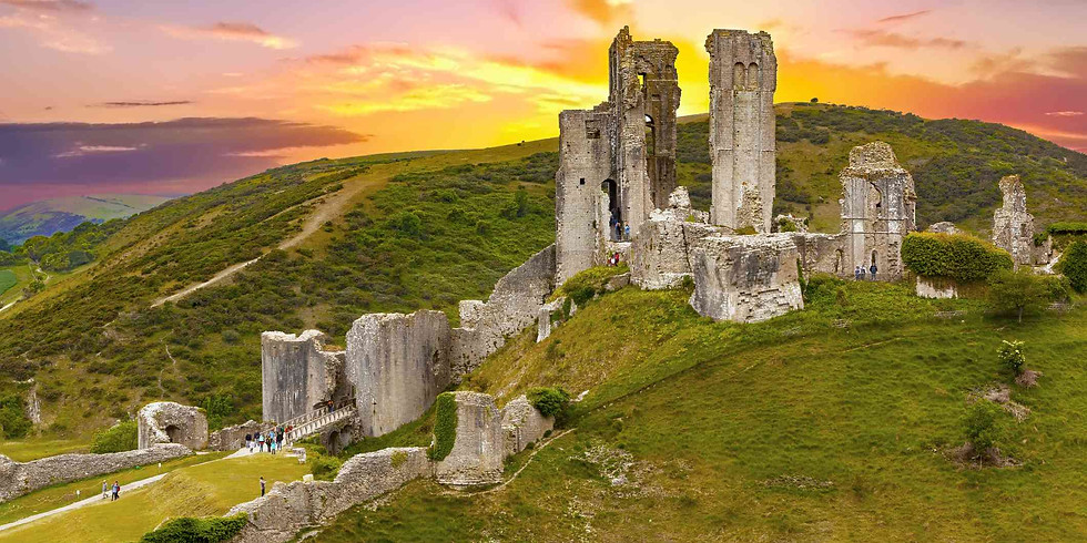 Corfe Castle, Jurassic Coast and the Old Harry Rocks - Hike and day out