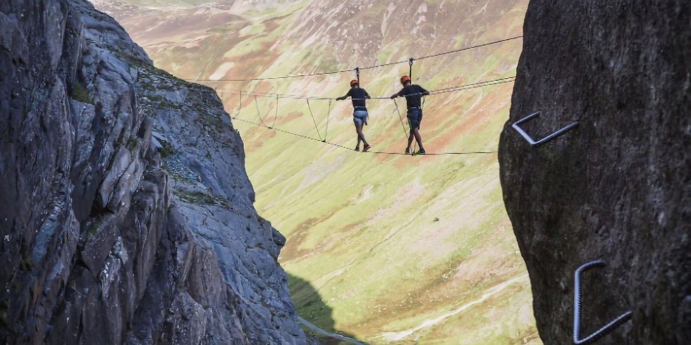 Lake District Via Ferrata and Catbells - Travel included