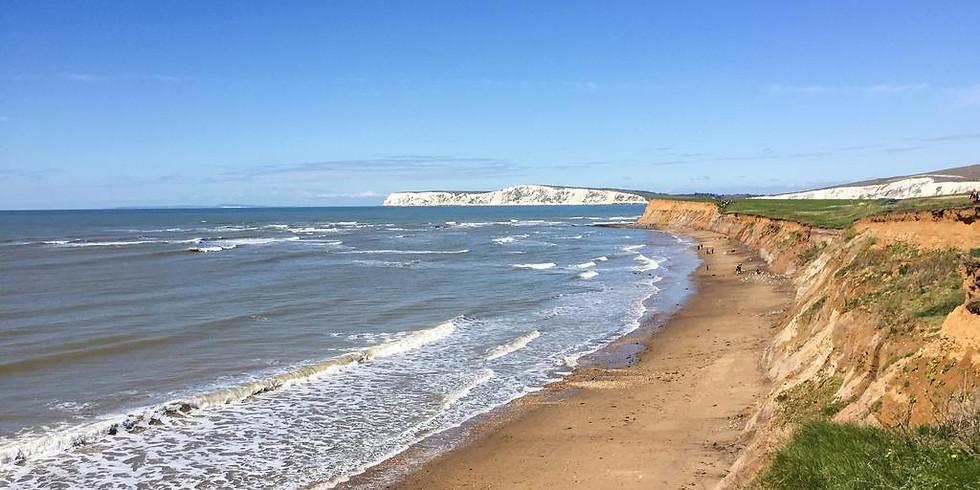 Isle of Wight hiking and beaching