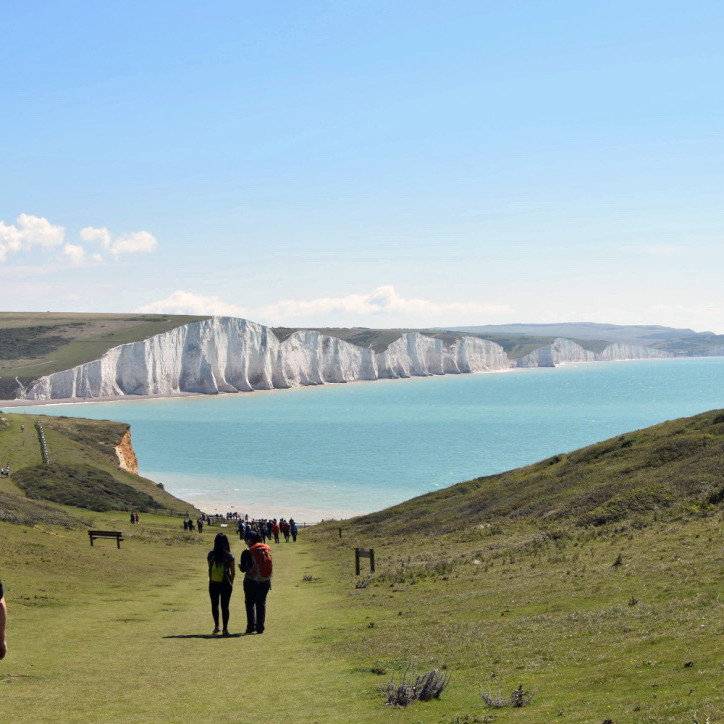 The Seven Sisters for Beginners - Eastbourne Circular - Beachy Head- Birling Gap