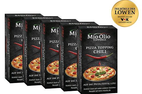 Mioolio Gewürzöl Chili I 50 x Chili 7,5ml I Glutenfrei I Vegan