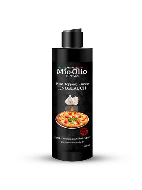 Mioolio Gewürzöl Knoblauch I 200 ml Squeeze I 100% receyceltes PET Flasche