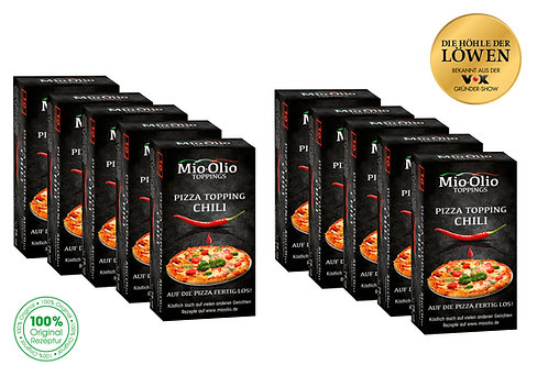 Mioolio Gewürzöl Chili I 100 x Chili 7,5ml I Ohne Konservierungsstoffe