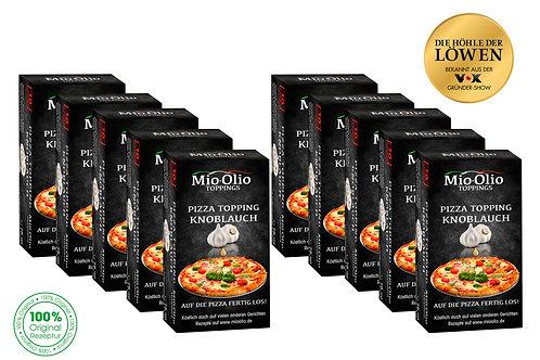 Mioolio Gewürzöl Knoblauch I 100 x 7,5 ml Sachet I Immer Frisch
