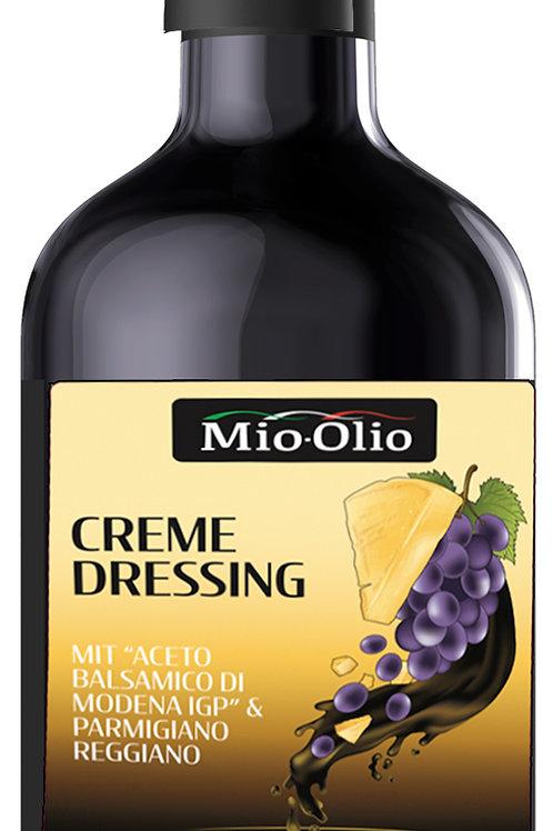 """MIO-OLIO Creme Dressing  """"Aceto Balsamico di Modena IGP"""" & Parmigiano Reggiano"""