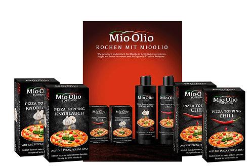 Mioolio Rezepte Buch 2.0 + 20 Knoblauch + 20 Chili I Sachet 7,5 ml