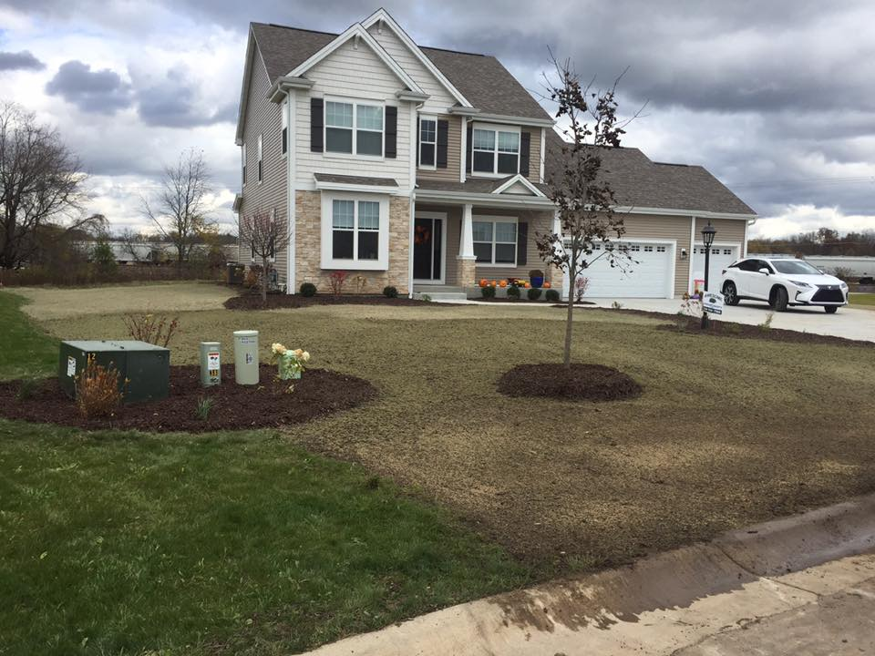 Milwaukee area landscaping for new construction