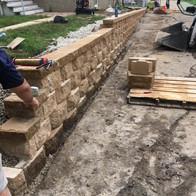 retaining wall milwaukee
