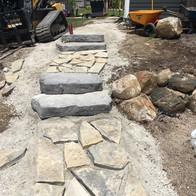 natural stone pathways