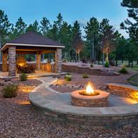 Luxury WI backyard