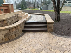 Paver Steps and Path
