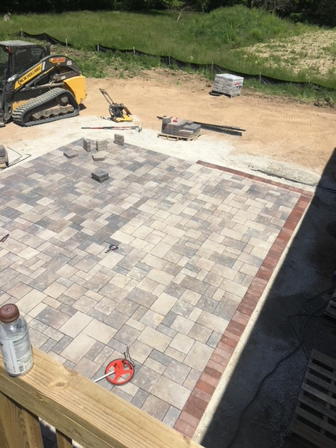 Paver patio WI