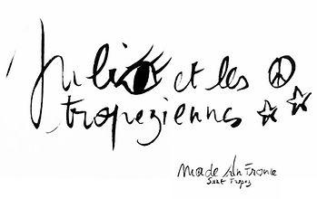 Le logo de Julie et les Tropeziennes a été dessiné par Julie.