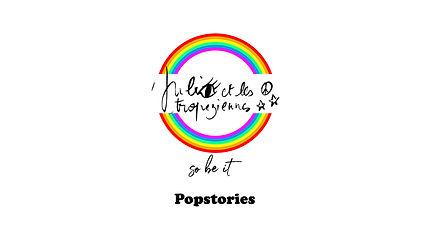 Logo Popstories Julie et les Tropeziennes les robes de Saint-Tropez