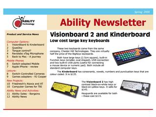 Newsletter: Spring 2008