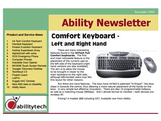 Newsletter: November 2004