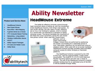 Newsletter: February 2004