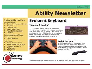 Newsletter: February 2006