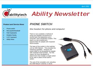 Newsletter: April 2002