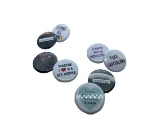 Social Justice Pins