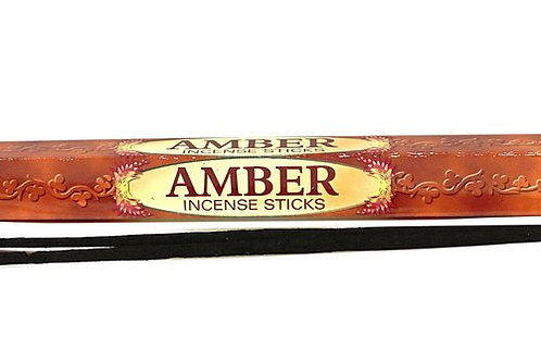 HEM AMBER INCENSE SINGLE PACK
