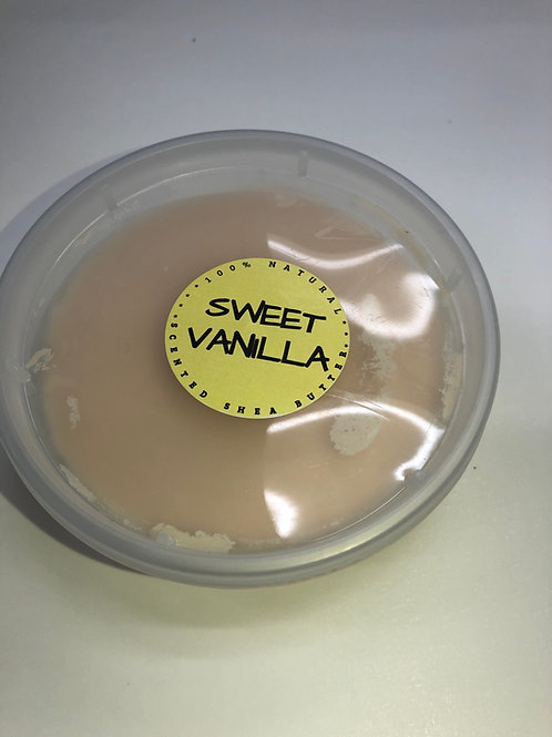 Sweet Vanilla Scented Shea Butter