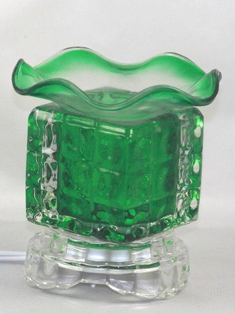 GREEN CUBE ELECTRIC BURNER