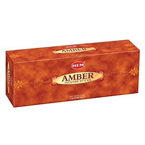 HEM AMBER INCENSE BOX