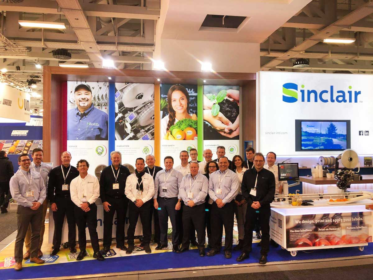 Large Exhibition Stand with Sinclair team at Fruit Logistica 2019