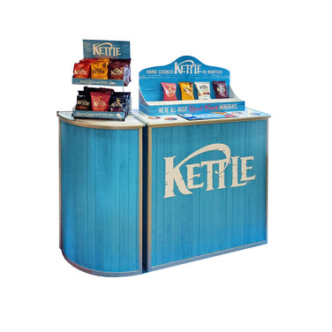 Custom Product Display Units and Counters for Kettle Foods