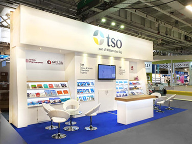 Custom Exhibition Stand - TSO at London Book Fair 2019