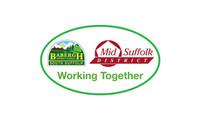 babergh & mid Suffolk Council logo Const