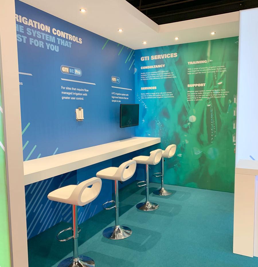 Exhibition Stand Demo Area Bailoy BTME 2019