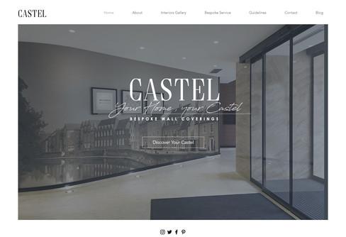 Castel Website Design