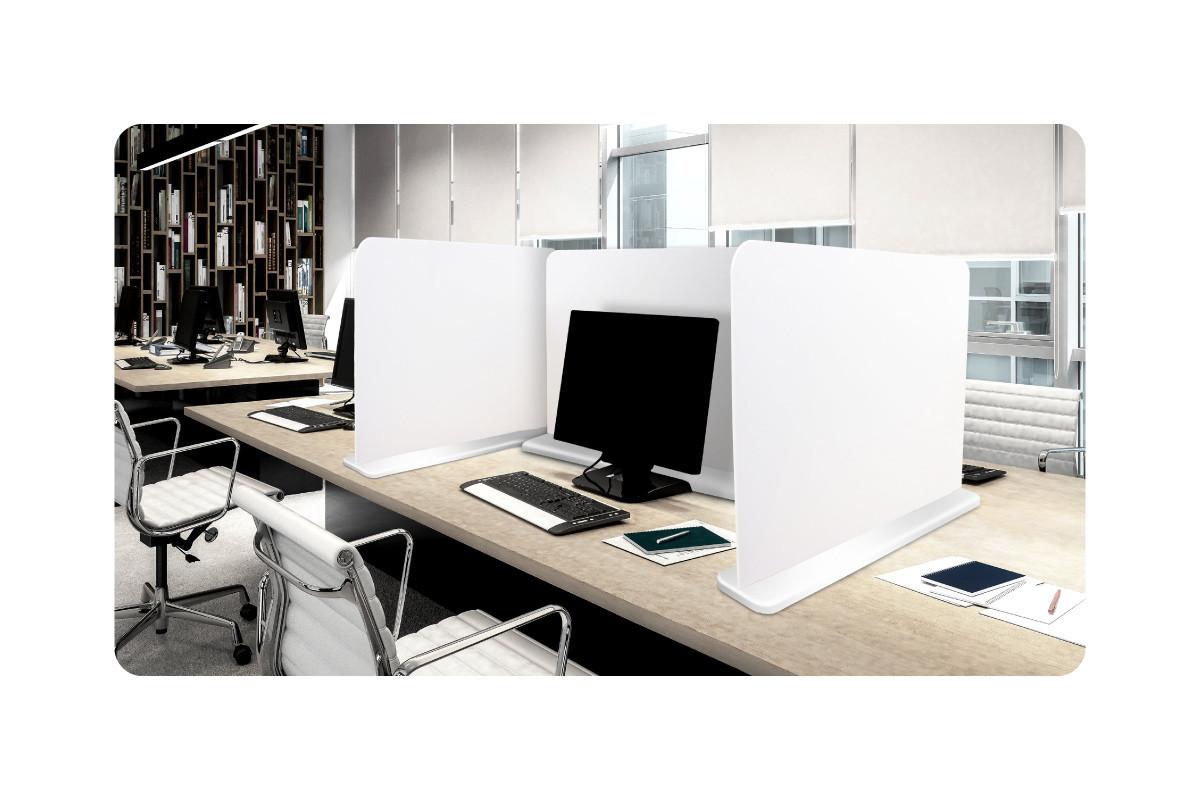 Free Standing Desk Divider Screens