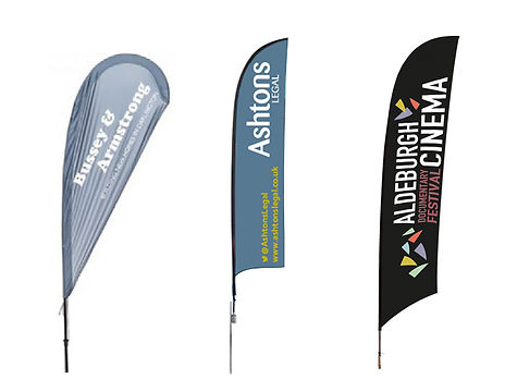Customisable Promo Flags from Image Display & Graphics Norfolk